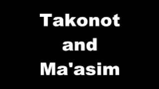 Takanot and Ma