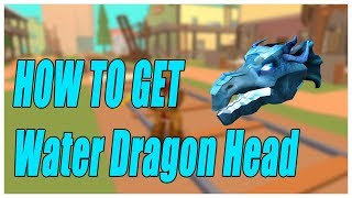 HOW TO GET THE WATER DRAGON HEAD - ROBLOX AQUAMAN EVENT
