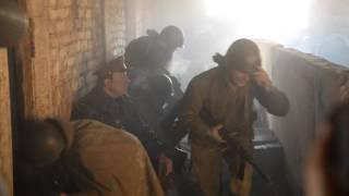 Георгий Дронов на съемках фильма «321-я сибирская» в Иркутске