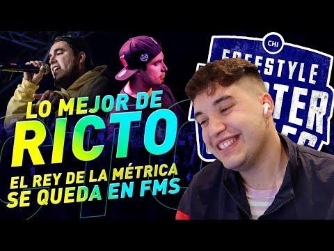 EL REY DE LA MÉTRICA VUELVE A LA LIGA - LO MEJOR DE RICTO EN FMS 2020 - ¡Homenaje!