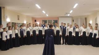 """Детский хоровой коллектив """"Созвучие"""". Песня из кинофильма""""Хористы"""" - Vois sur ton chemin"""