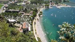 Camping Bellavista - Lake Garda - Torbole wiew from Monte Brione