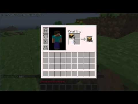How To Create A Workbench In Minecraft Youtube