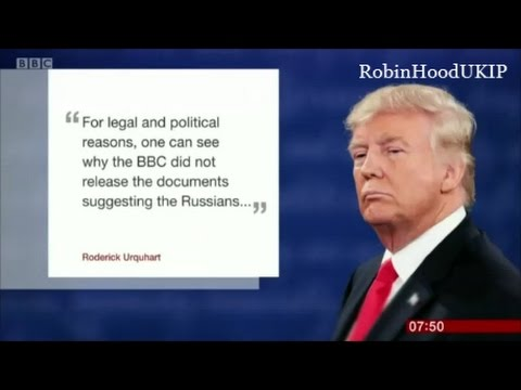 British Public see through the BBC fake news on Donald Trump