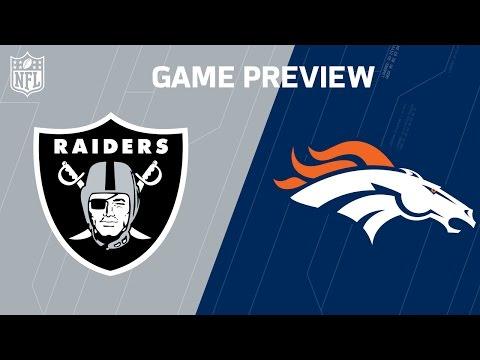 Raiders vs. Broncos | Khalil Mack vs. Von Miller | Move the Sticks | NFL Week 17 Previews