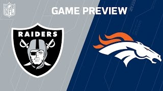 Raiders vs. Broncos | Khalil Mack vs. Von Miller | Move the Sticks | NFL Week 17 Previews