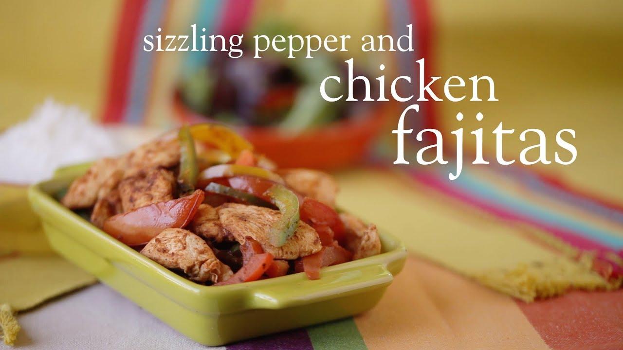Slimming World Syn Free Easy Chicken Fajita Recipe Youtube