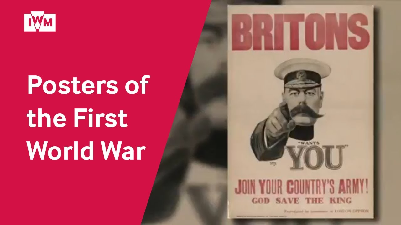 First World War Recruitment Posters
