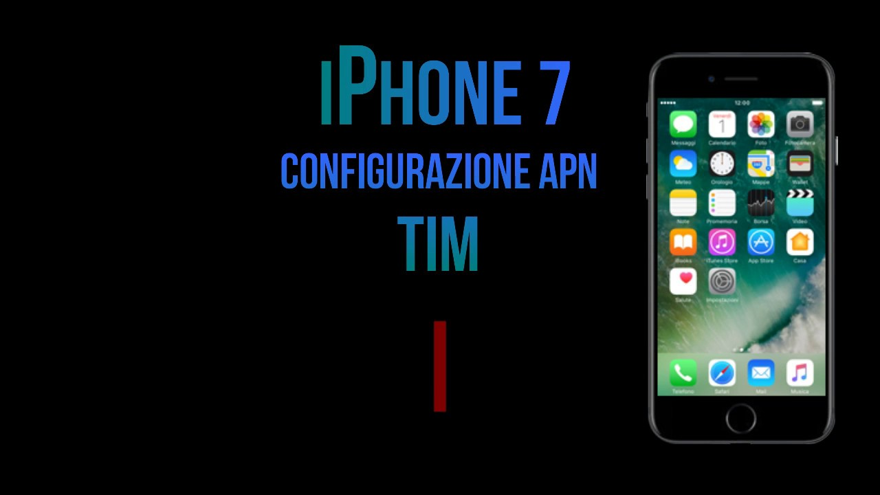 Configurare l'APN sull'iPhone | TIM
