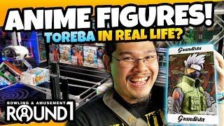Crazy UFO Catcher Wins! Anime Figures in the Round 1 UFO Catchers! Real Life Toreba UFO Catchers!