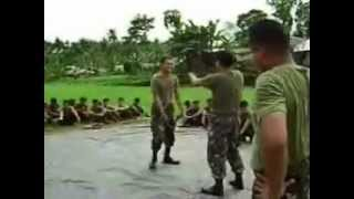 Philippine Army unarmed combat training