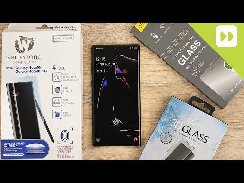 Best Samsung Galaxy Note 10 Plus Glass Screen Protectors