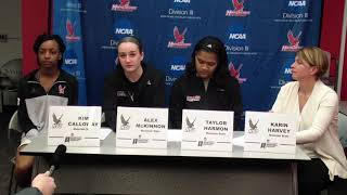 2018 NCAA D3 WBB Post-Game - Montclair State