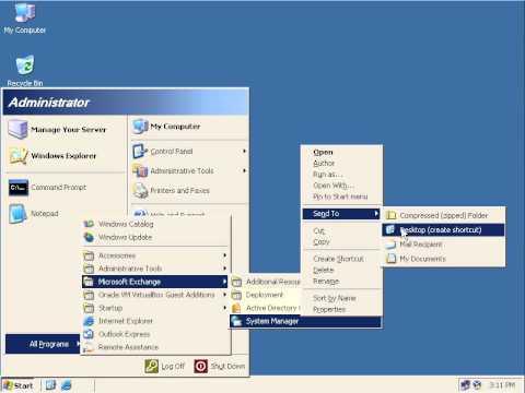 Microsoft Exchange Server Migration from Exchange 2003 to Exchange 2010  part 01