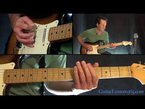 Whip It Guitar Lesson - Devo