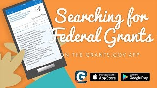 Mobile App: Searching for Federal Grants on the Grants.gov App thumbnail