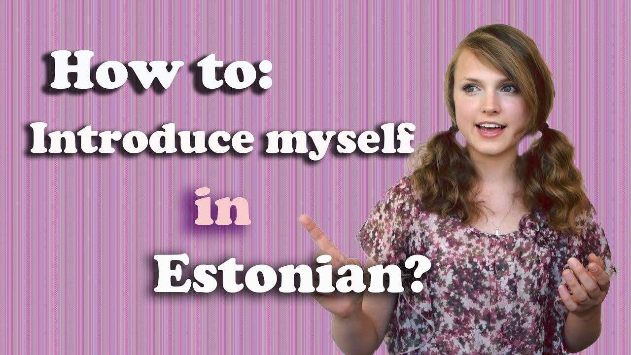 12 Months in Estonian - YouTube