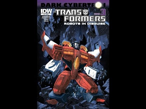 Redneck Reviews – IDW comics – Transformers : Robots in disguise # 23