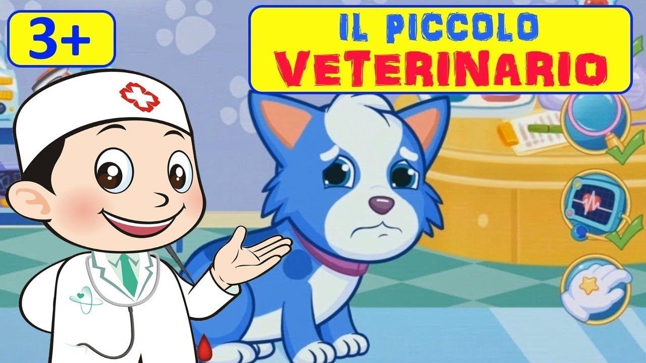 Il piccolo veterinario giochiamo con gli animali e