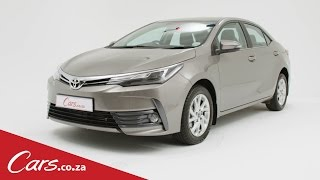 2017 Toyota Corolla Facelift - What's Changed