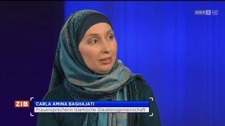 Carla Amina Baghajati über Kopftuchverbot - BM Sebastian Kurz: ZIB 2