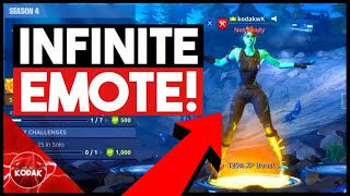Infinite Emote Glitch! How to Dance FOREVER in The Lobby!