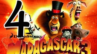 Madagascar 3: The Game Walkthrough Part 4 (PS3, X360, Wii) Mission 2 - Rome