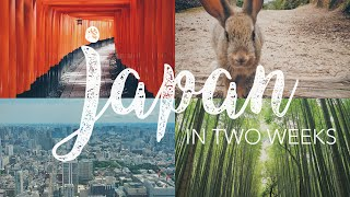 JAPAN TRIP 2016 | Tokyo, Kyoto, Hiroshima & Rabbit Island!