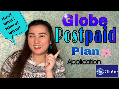 Globe Postpaid Plan Application | Joanna Marie