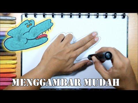 tutorial-menggambar-buaya-dengan-jari-tangan-|-untuk-anak-paud-tk-dan-sd-cara-menggambar
