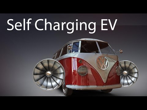 Can you Make a SELF CHARGING ELECTRIC CAR?