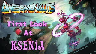 Awesomenauts | First Look at Ksenia & Starstorm Map | w/ Sweet & Gangsta