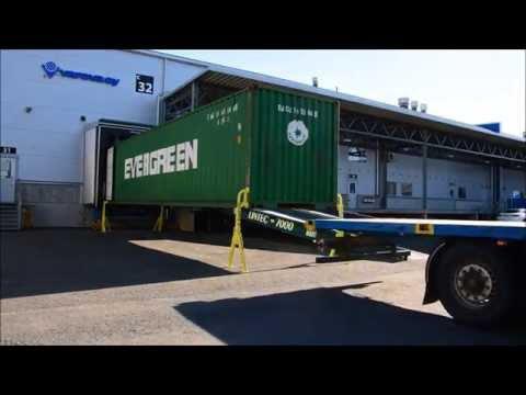 видео: Устройство для съема контейнера confoot-leg® без крана и другого оборудования