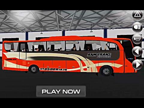 IDBS Bus Simulator - Simulasi Bus Indonesia - Bis AAM Trans Full Telolet (Android Game)