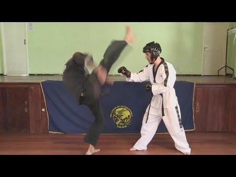 How To Do An Axe Kick