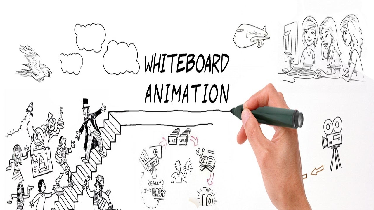 Whiteboard Animation Software  with 5 new styles!