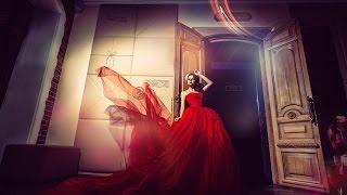 Обработка фото Красное платье от Филиппа Ускова