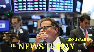 S&P, Dow Advance As Investors Shrug Off Trade Jitters | News Today | 08/03/2018 | Donald Trump