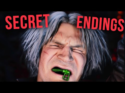 10 RIDICULOUS Secret Endings In Recent Games