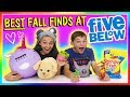 BEST FALL FINDS AT FIVE BELOW! | NO BUDGET SHOPPING | We Are The Davises