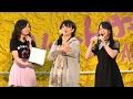 170610 倉野尾成美 佐藤七海 谷川聖 (AKB48 チーム8)~君は僕だ・コイントス・ジッパ…