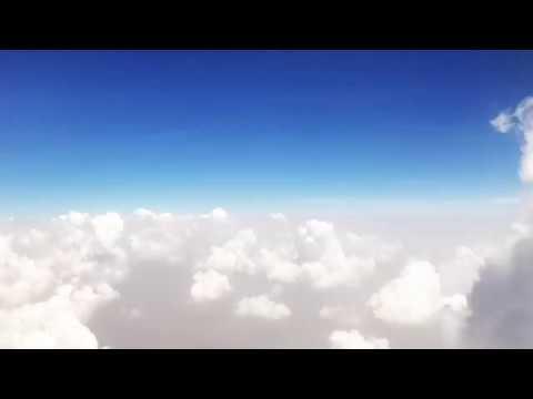 Timelapse of plane landing in India 🛬