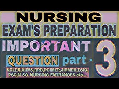 NURSING exam preparation I important questions part 3 I FNP I STAFF NURSE I NURSING VACANCY I RN