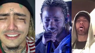 Celebs React To Nipsey Hussle's Death (ft. Lil Pump, Kendrick Lamar, The Game & more) part 2
