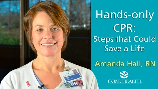 Hands-Only CPR: Steps that Could Save a Life
