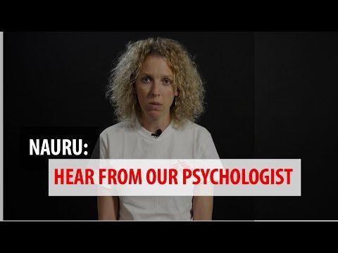 Nauru: Hear from MSF psychologist Christine