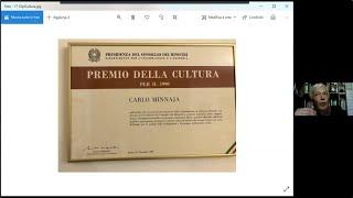 Carlo Minnaja, Mia esperantista vivo