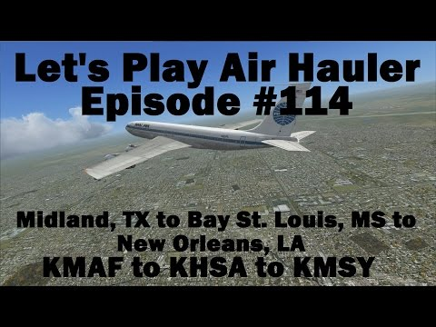 FSX | Let's Play Air Hauler Episode #114 - A Couple Jobs | Boeing 707