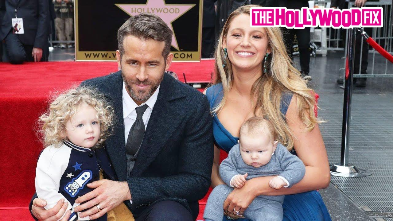 Ryan Reynolds & Blake Lively's Kids Steal The Show At Walk ...