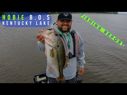 2019 Hobie Bass Open @ KY Lake Fishing Report May 18th & 19th